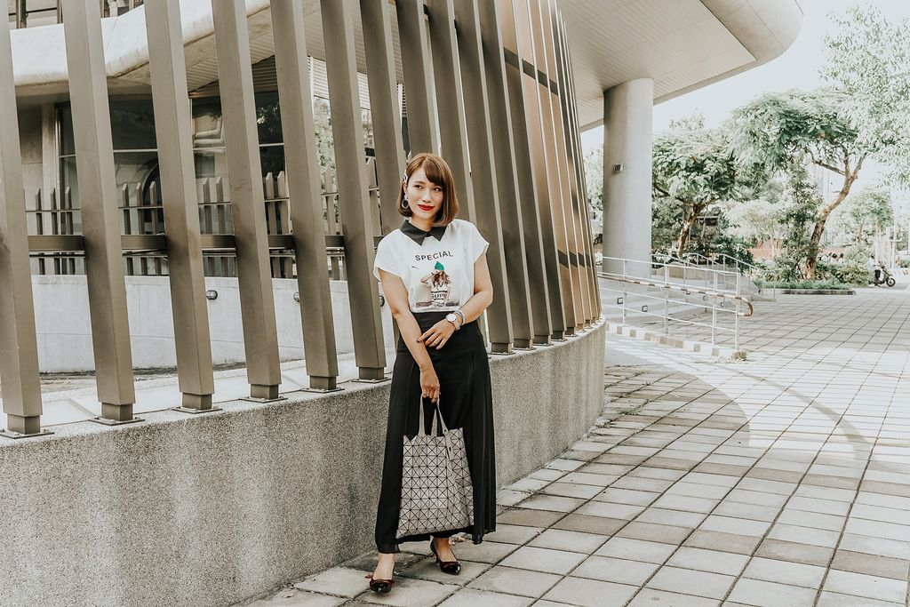 穿搭 流行前線 Popular Front 輕熟女風格服飾這裡買 黑白經典搭配LOOKBOOK16.jpg