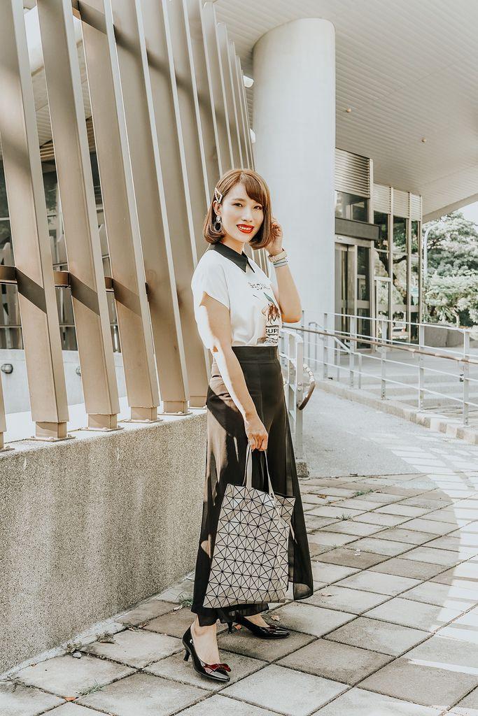 穿搭 流行前線 Popular Front 輕熟女風格服飾這裡買 黑白經典搭配LOOKBOOK19.jpg