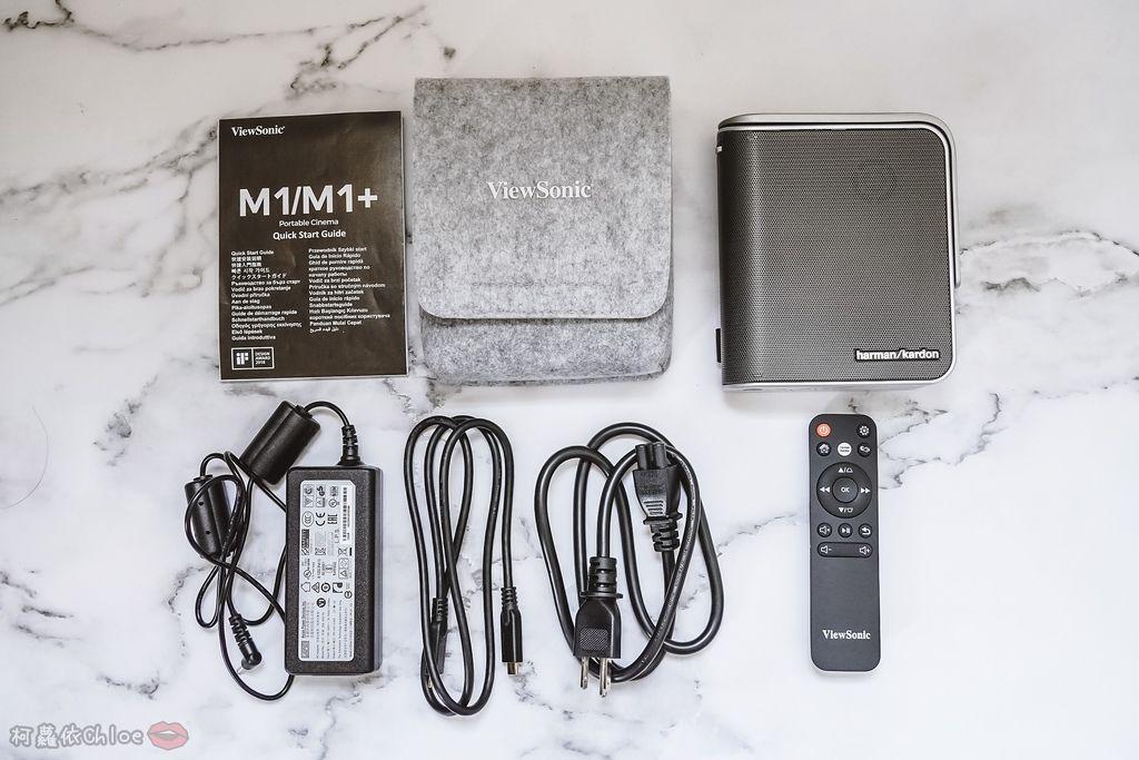 開箱 ViewSonic M1+ WVGA 360度無線巧攜投影機 迷你輕巧實用性超高!無線投影讓我追劇更享受!家庭娛樂、商務、露營適用2A.jpg