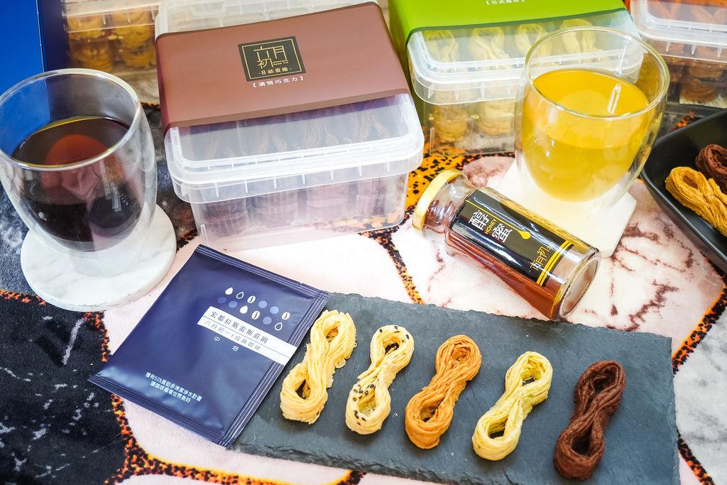 彌月禮盒推薦 六月初一8結雙蜜彌月禮盒 8結聯名咖啡彌月禮盒 心目中最好吃又暖心的蛋捲42.jpg