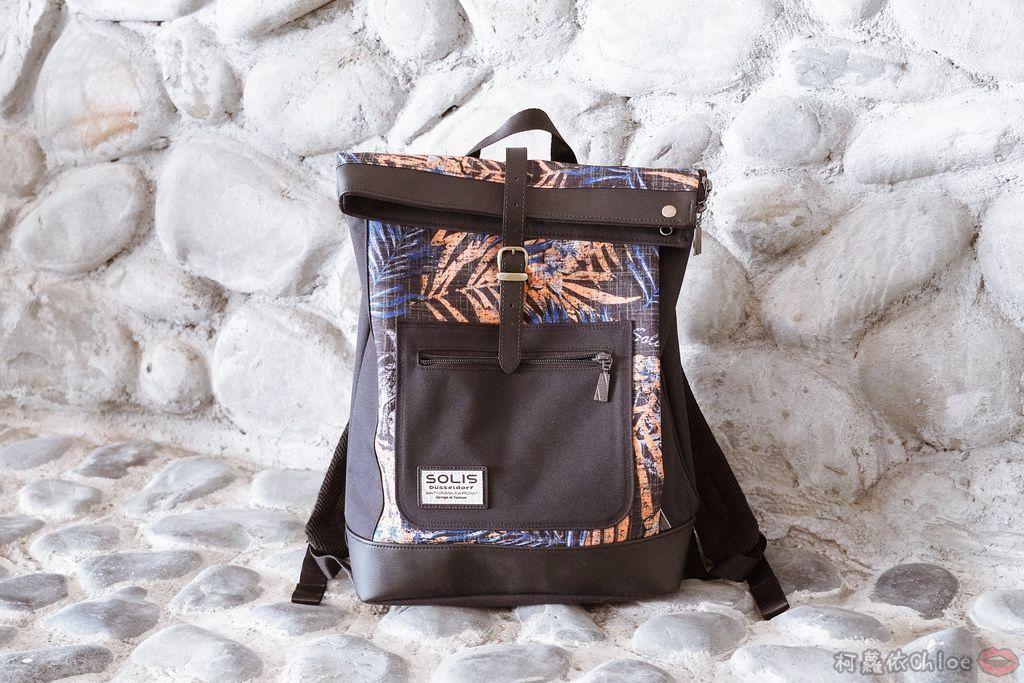 環保時尚包 SOLIS防撥水後背包 工作 休閒都適合的機能性筆電背包1.jpg