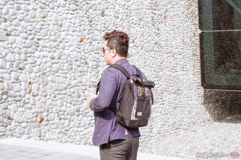 環保時尚包 SOLIS防撥水後背包 工作 休閒都適合的機能性筆電背包19.jpg