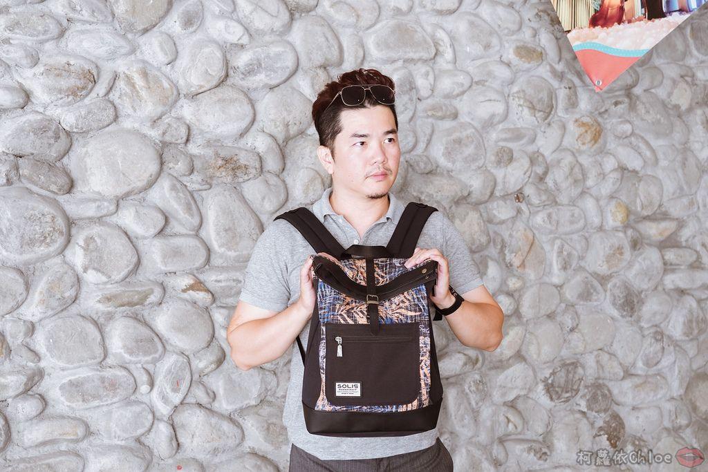 環保時尚包 SOLIS防撥水後背包 工作 休閒都適合的機能性筆電背包20.jpg