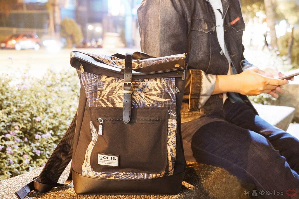 環保時尚包 SOLIS防撥水後背包 工作 休閒都適合的機能性筆電背包26A.jpg