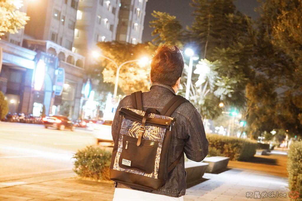 環保時尚包 SOLIS防撥水後背包 工作 休閒都適合的機能性筆電背包28.jpg