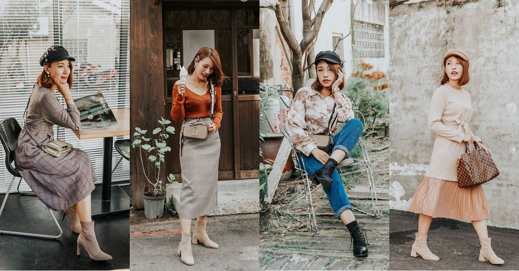 秋冬穿搭LOOKBOOK 穿靴的季節到了!#GraceGift K.Lady韓系訂製系列.jpg