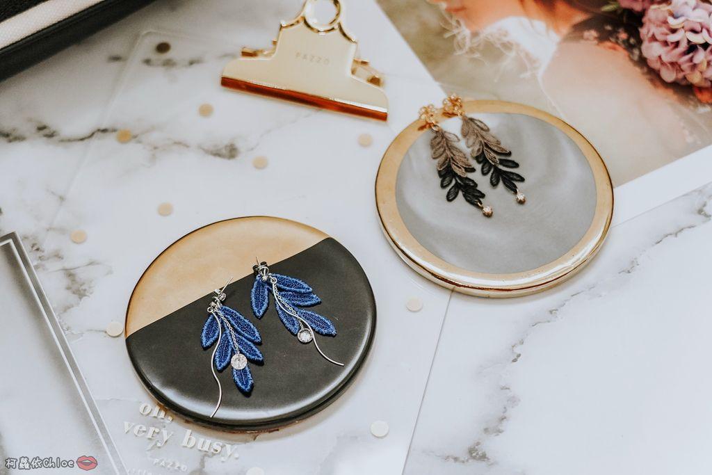飾品穿搭 明林蕾絲療癒系蕾絲耳環 優雅時尚單品3.jpg