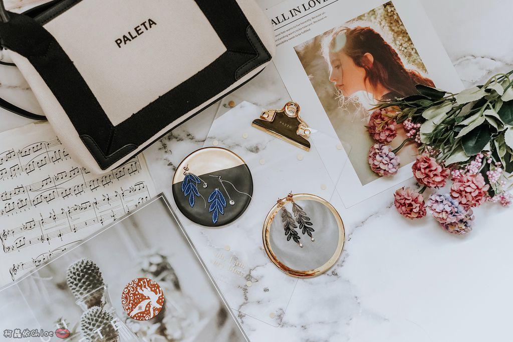 飾品穿搭 明林蕾絲療癒系蕾絲耳環 優雅時尚單品1.jpg
