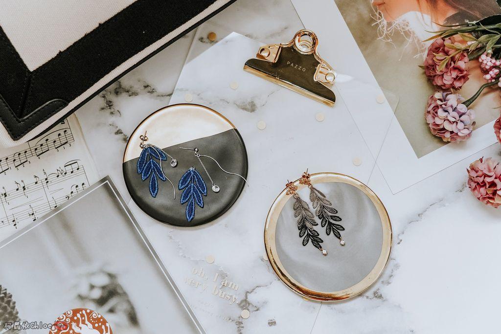 飾品穿搭 明林蕾絲療癒系蕾絲耳環 優雅時尚單品2.jpg