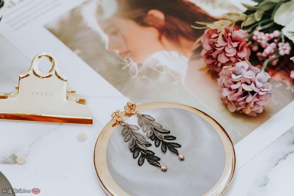 飾品穿搭 明林蕾絲療癒系蕾絲耳環 優雅時尚單品5.jpg