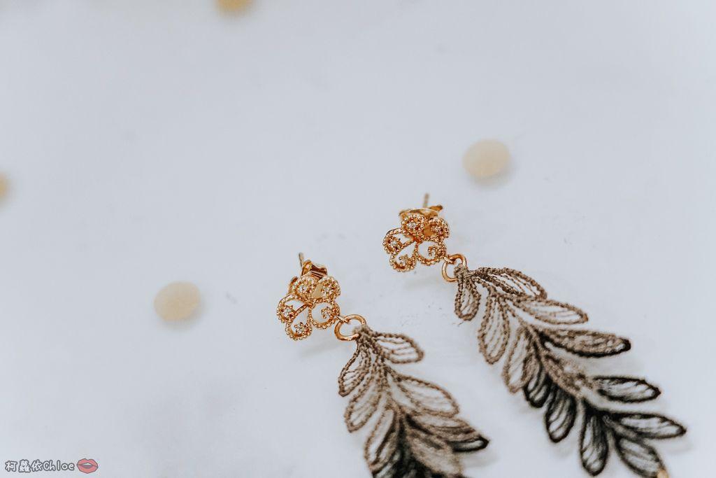 飾品穿搭 明林蕾絲療癒系蕾絲耳環 優雅時尚單品8.jpg
