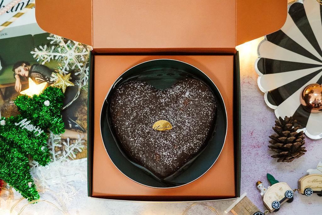 2019聖誕節交換禮物送禮推薦 起士公爵介紹75%皇家布朗尼 80%比利時手工生巧克力 細緻綿密口感大人氣!5.JPG