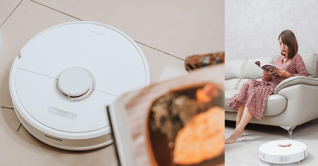 居家生活 Roborock 石頭掃地機器人二代S6 吸塵力強又靜音 掃地拖地交給它.jpg