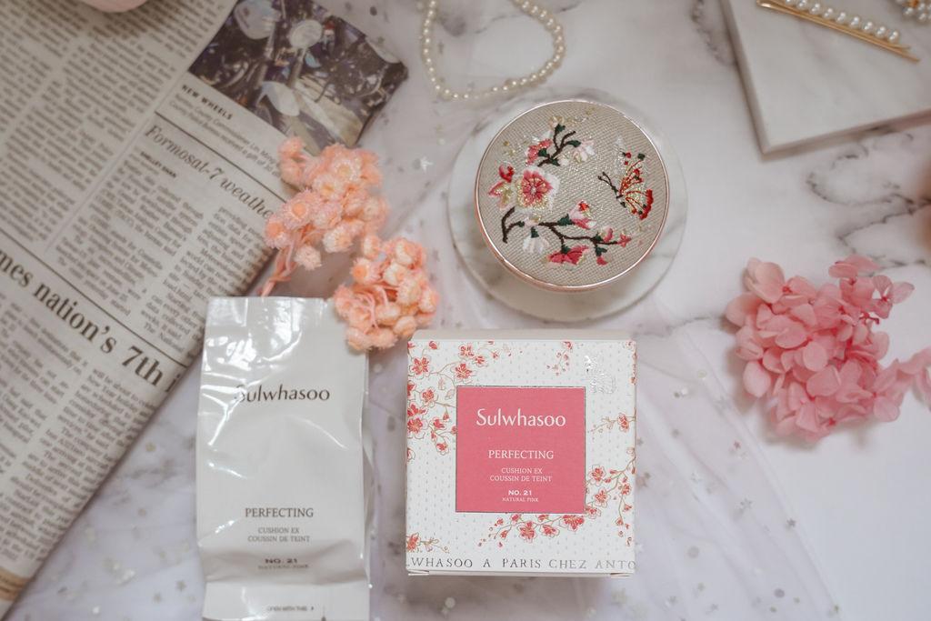 美妝購物|Qoo10購物平台韓國直送享優惠 Sulwhasoo 雪花秀 完美瓷肌氣墊粉霜(2020幸運花園限量版)9.jpg