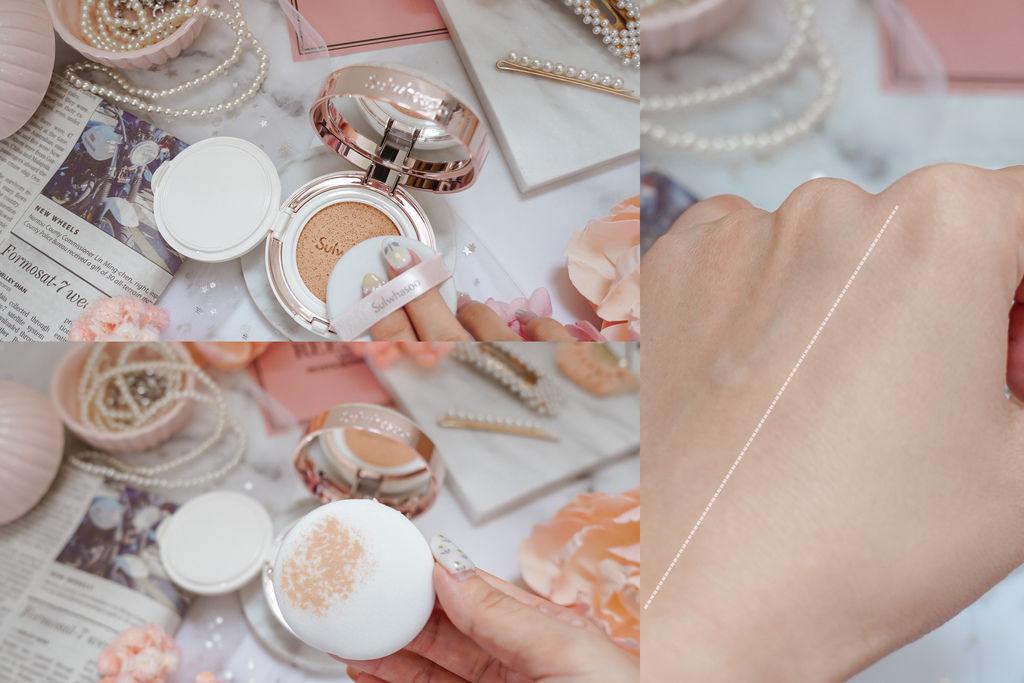 美妝購物|Qoo10購物平台韓國直送享優惠 Sulwhasoo 雪花秀 完美瓷肌氣墊粉霜(2020幸運花園限量版)20.jpg