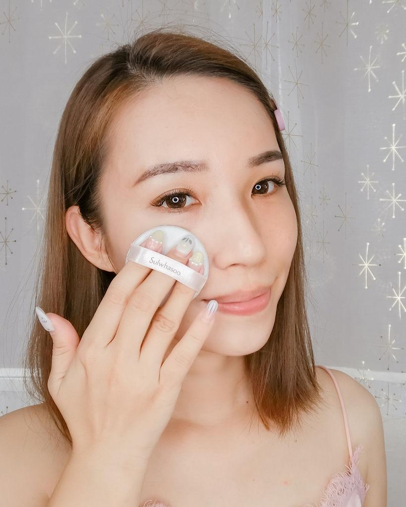 美妝購物|Qoo10購物平台韓國直送享優惠 Sulwhasoo 雪花秀 完美瓷肌氣墊粉霜(2020幸運花園限量版)21.jpg
