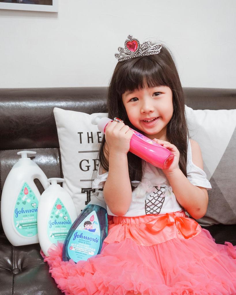 嬌生嬰兒沐浴系列 大寶貝的洗澡好朋友 公主和英雄一起進入嬌生奇幻王國吧!25.JPG