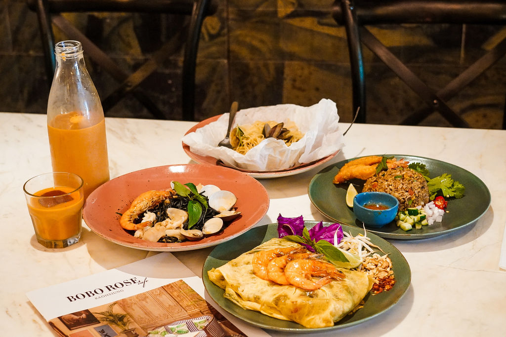 高雄泰式料理BoBo Rose Coffee 森林系絕美華麗風  慶生聚會餐廳 泰式奶茶 雞肉炸春捲 必點10.jpg