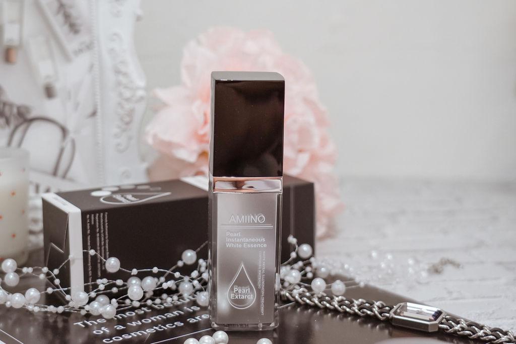 保養 地方媽媽的夏日保養術 AMINO 安美諾珍珠瞬白保濕精華 養成保濕透亮少女肌7.jpg