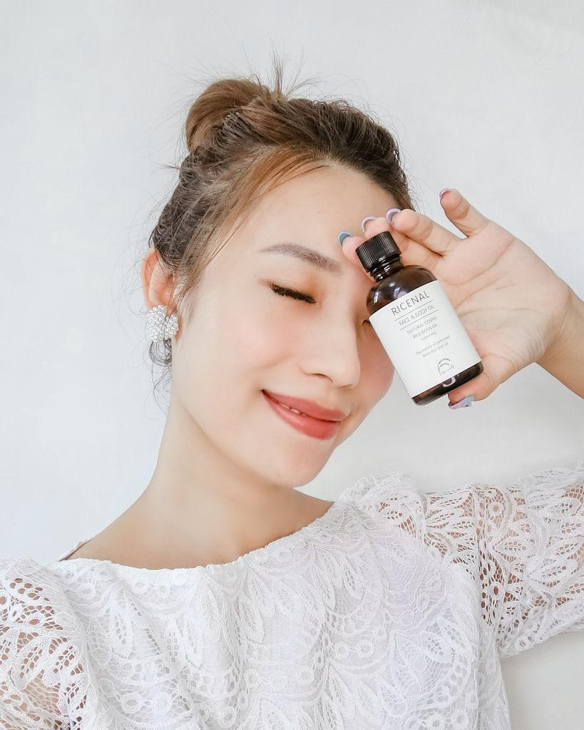 自然系保養 RICENAL 日本米糠保濕精華油 從頭到腳極致呵護 萬用油推薦15.jpg