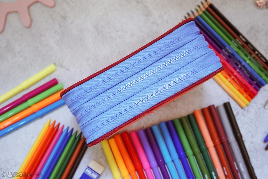 大人小孩都瘋狂的文具懶人包!MILAN隨行畫筆袋著走 Funmi#創樂宇宙 質感文具必入手37.JPG
