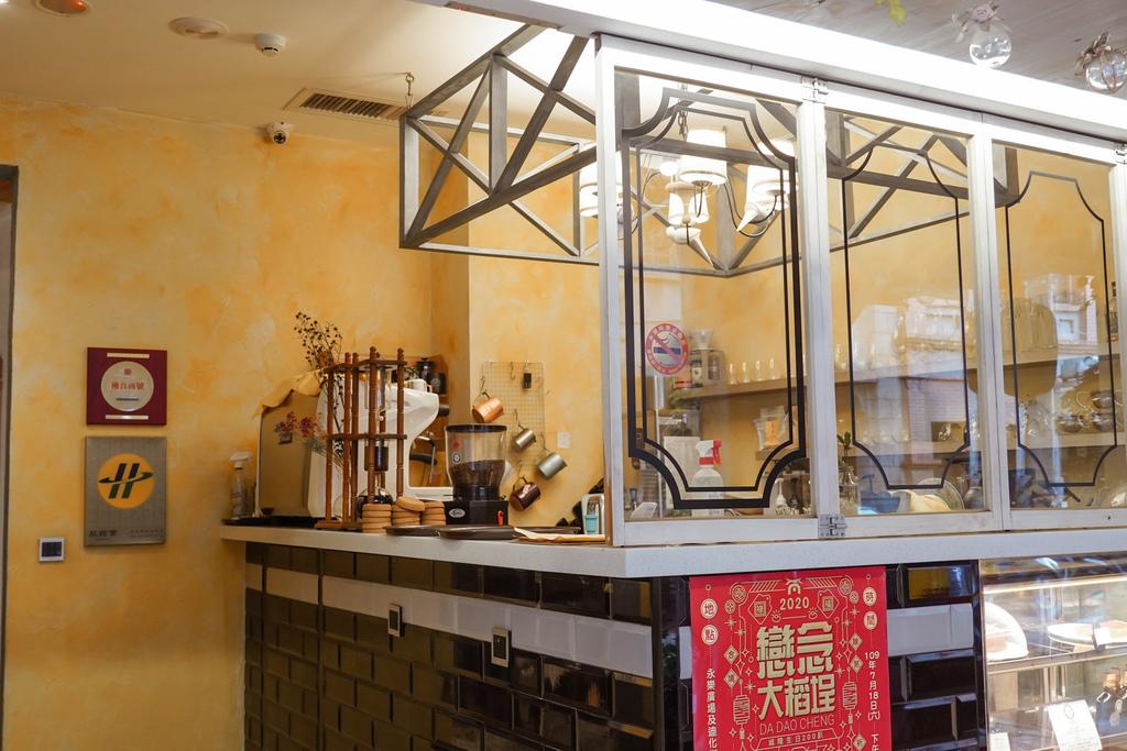 台北住宿 D.G. Hotel %26; Cafe 大稻埕迪化街上有咖啡廳的南法鄉村風旅店5.JPG