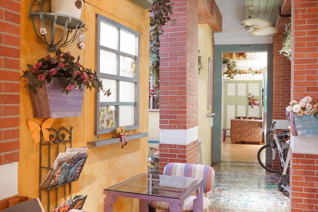 台北住宿 D.G. Hotel %26; Cafe 大稻埕迪化街上有咖啡廳的南法鄉村風旅店6.JPG