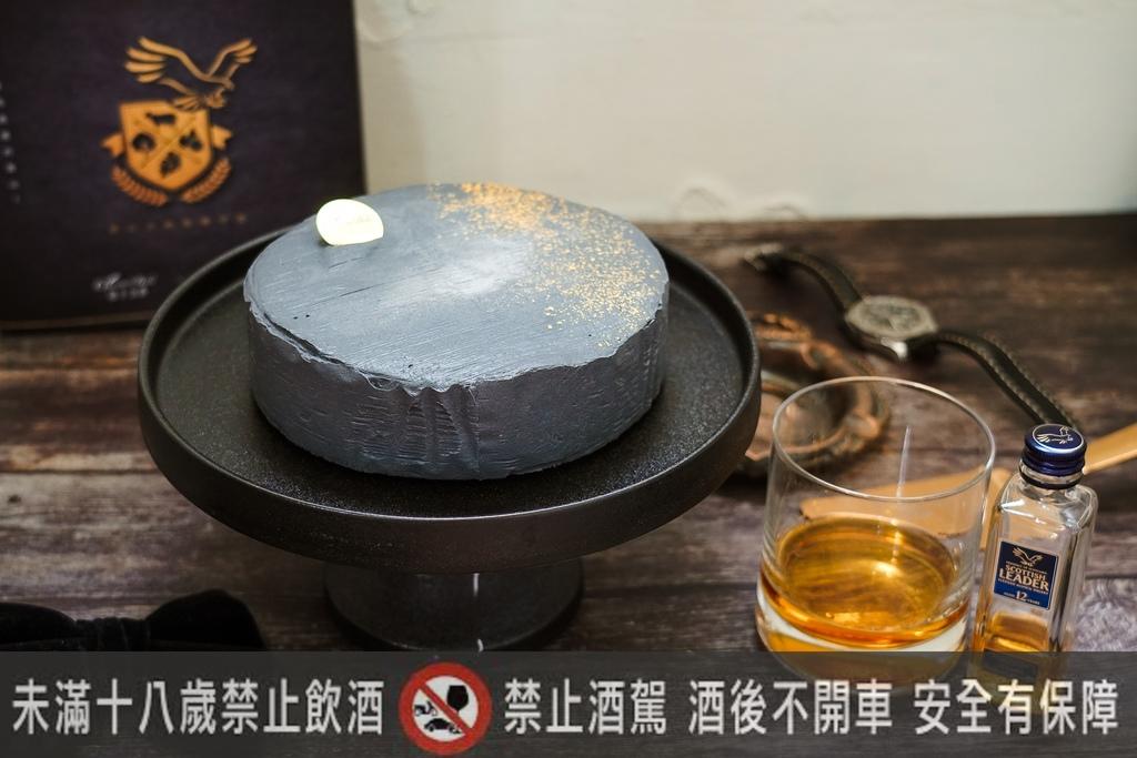 2020父親節蛋糕推薦 台南起士公爵 磐石威士忌乳酪蛋糕 爸氣十足又時尚7.jpg