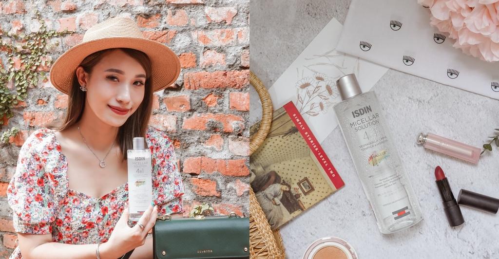 ISDIN 4效合1卸妝潔膚水 空姐好友推薦西班牙第一藥妝品牌 接睫毛也可安心使用.jpg