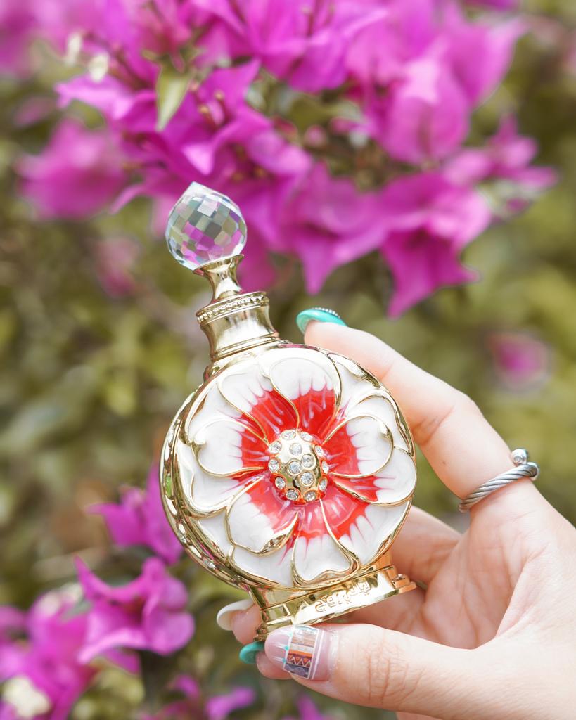 高雄大遠百 Rasasi拉莎斯香水 杜拜皇室御用調香 心動持香一整天 魅力花果香調分享45.jpg