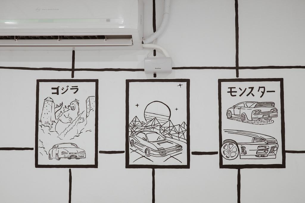 高雄2D Cafe 走進黑白漫畫裡 甜點咖啡美照拍不停 進瑞豐夜市 巨蛋站2號出口24.jpg