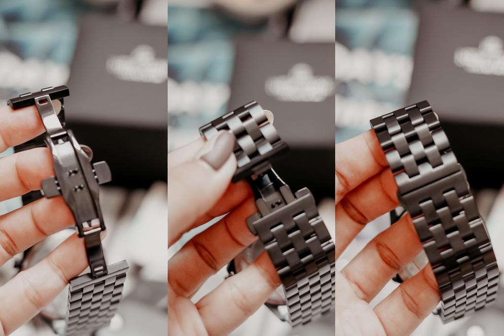 上班族男錶推薦 New York Incredibles三眼錶不鏽鋼黑錶帶 質感好搭又好看6.jpg