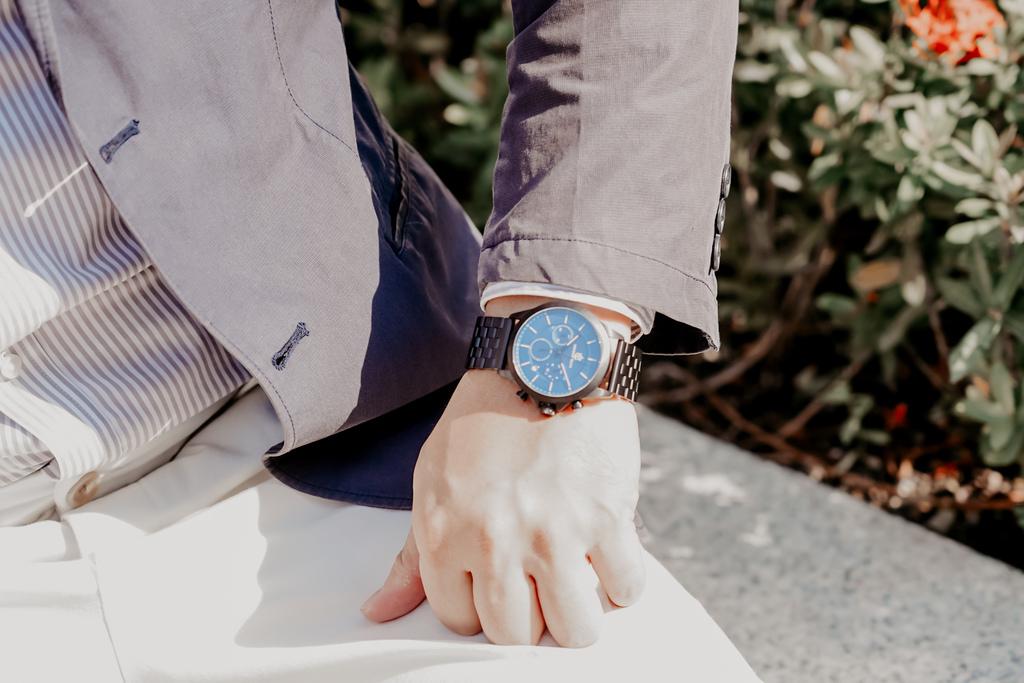 上班族男錶推薦 New York Incredibles三眼錶不鏽鋼黑錶帶 質感好搭又好看16.jpg