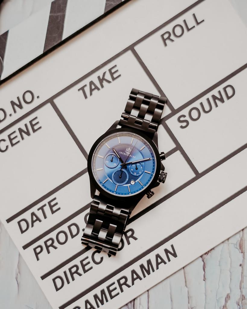 上班族男錶推薦 New York Incredibles三眼錶不鏽鋼黑錶帶 質感好搭又好看23.jpg