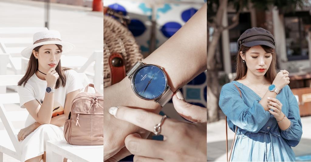 雙11折扣碼CHLOE65 2020 Nordgreen北歐極簡手錶 Native 北歐藍錶盤月光銀穿搭LOOKBOOK.jpg