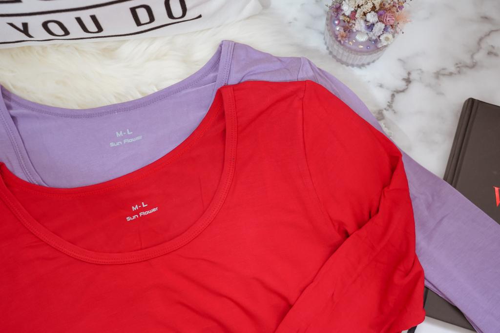 三花棉業SunFlower 全家人舒適的貼身衣物穿搭分享 內褲 保暖機能衣 無痕襪 隱形襪18.JPG