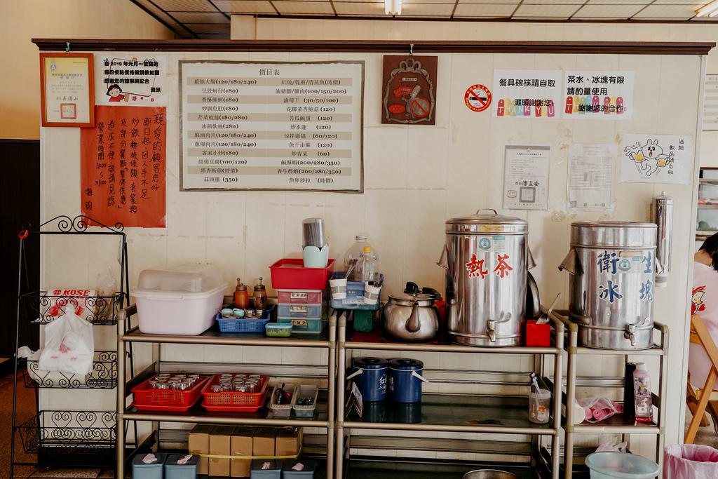 潮州美食 灘頭客家常菜 屏東潮州在地的好味道 滷豬腳、薑絲大腸、紅燒豆腐必點8.jpg
