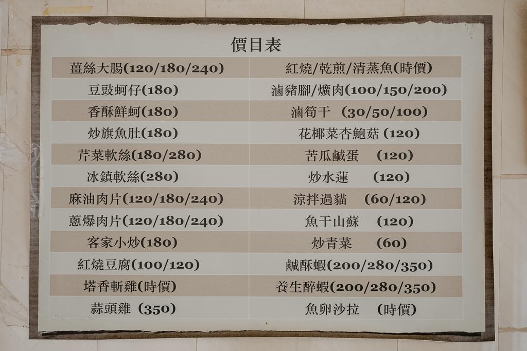 潮州美食 灘頭客家常菜 屏東潮州在地的好味道 滷豬腳、薑絲大腸、紅燒豆腐必點10.jpg