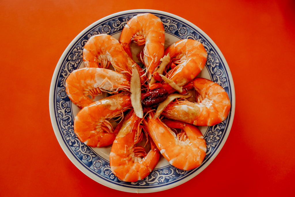 潮州美食 灘頭客家常菜 屏東潮州在地的好味道 滷豬腳、薑絲大腸、紅燒豆腐必點15.jpg