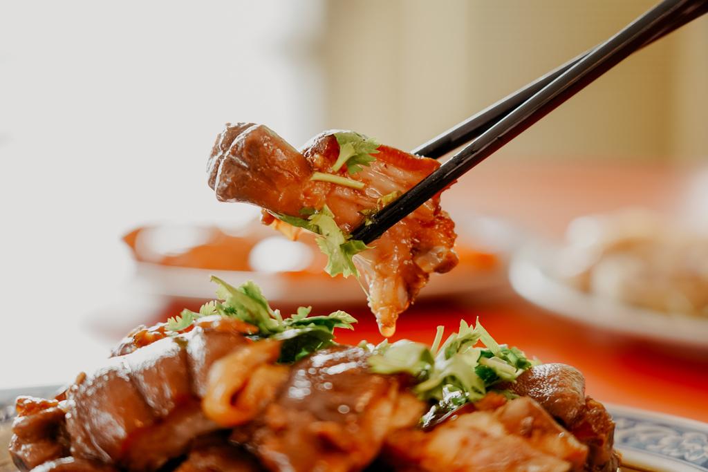 潮州美食 灘頭客家常菜 屏東潮州在地的好味道 滷豬腳、薑絲大腸、紅燒豆腐必點21.jpg