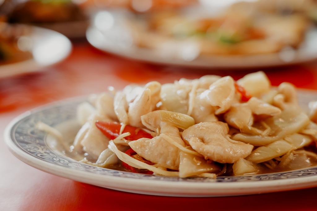 潮州美食 灘頭客家常菜 屏東潮州在地的好味道 滷豬腳、薑絲大腸、紅燒豆腐必點23.jpg