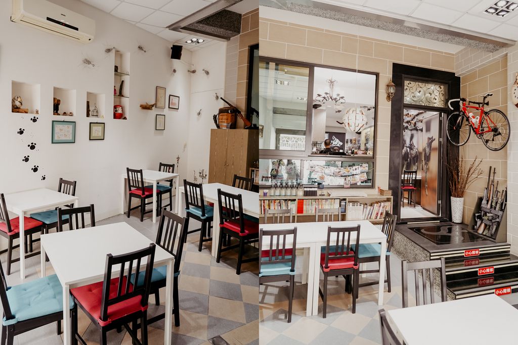 屏東特色咖啡店 槍與咖啡 義大利麵 中式簡餐 咖啡甜點 生存遊戲迷必來~店貓也超可愛4.jpg