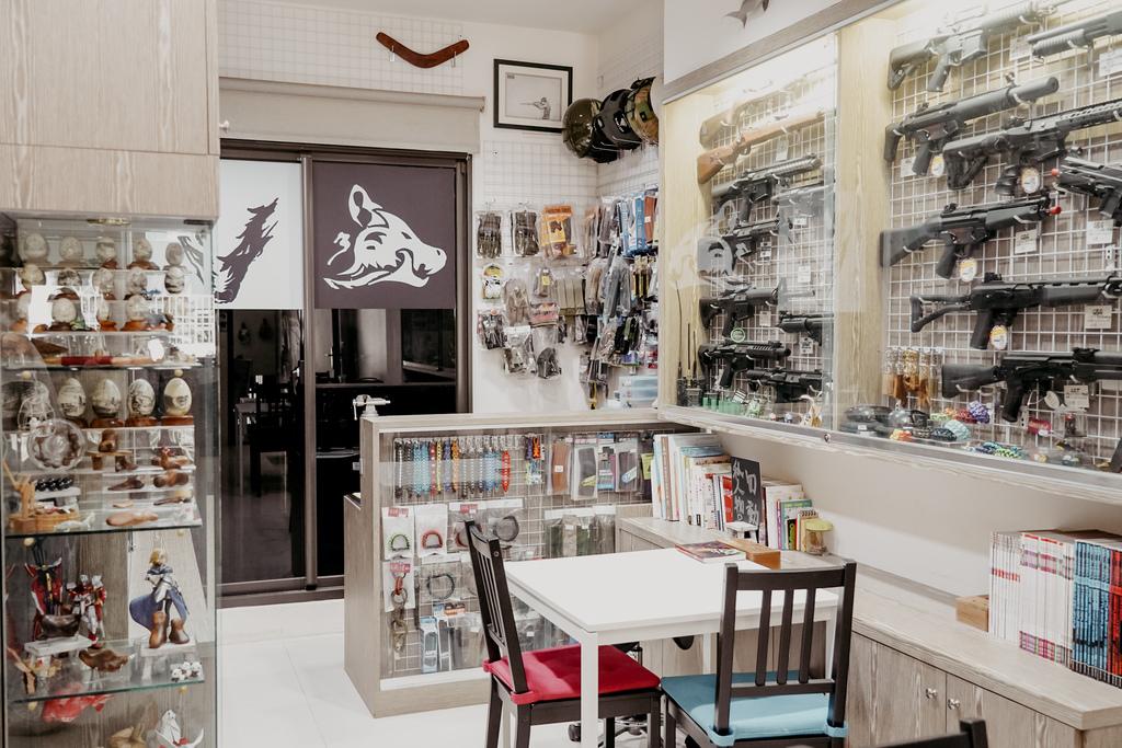 屏東特色咖啡店 槍與咖啡 義大利麵 中式簡餐 咖啡甜點 生存遊戲迷必來~店貓也超可愛8.jpg