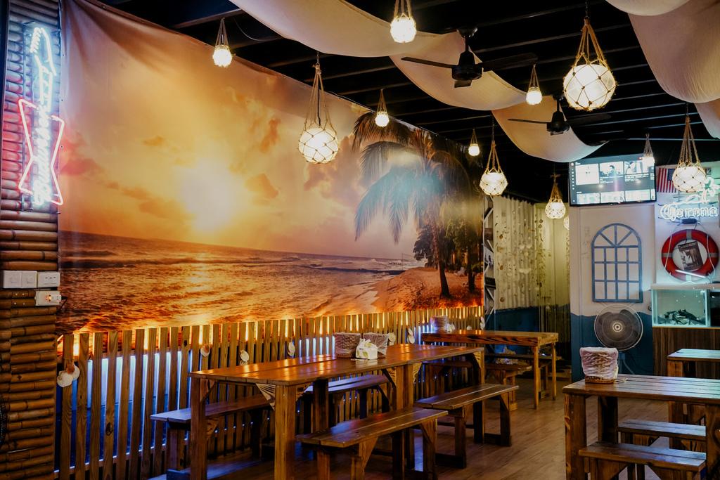 台南東區燒烤 浪兄浪弟 海鮮燒烤Bar 南洋海島環境氛圍 雞翅 骰子牛 美國生蠔必吃6.JPG