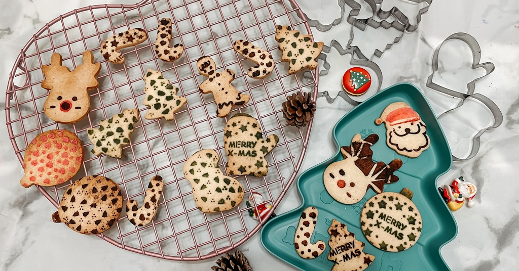聖誕節印花造型餅乾 親子烘焙時間 零失誤的手工餅乾學起來.JPG