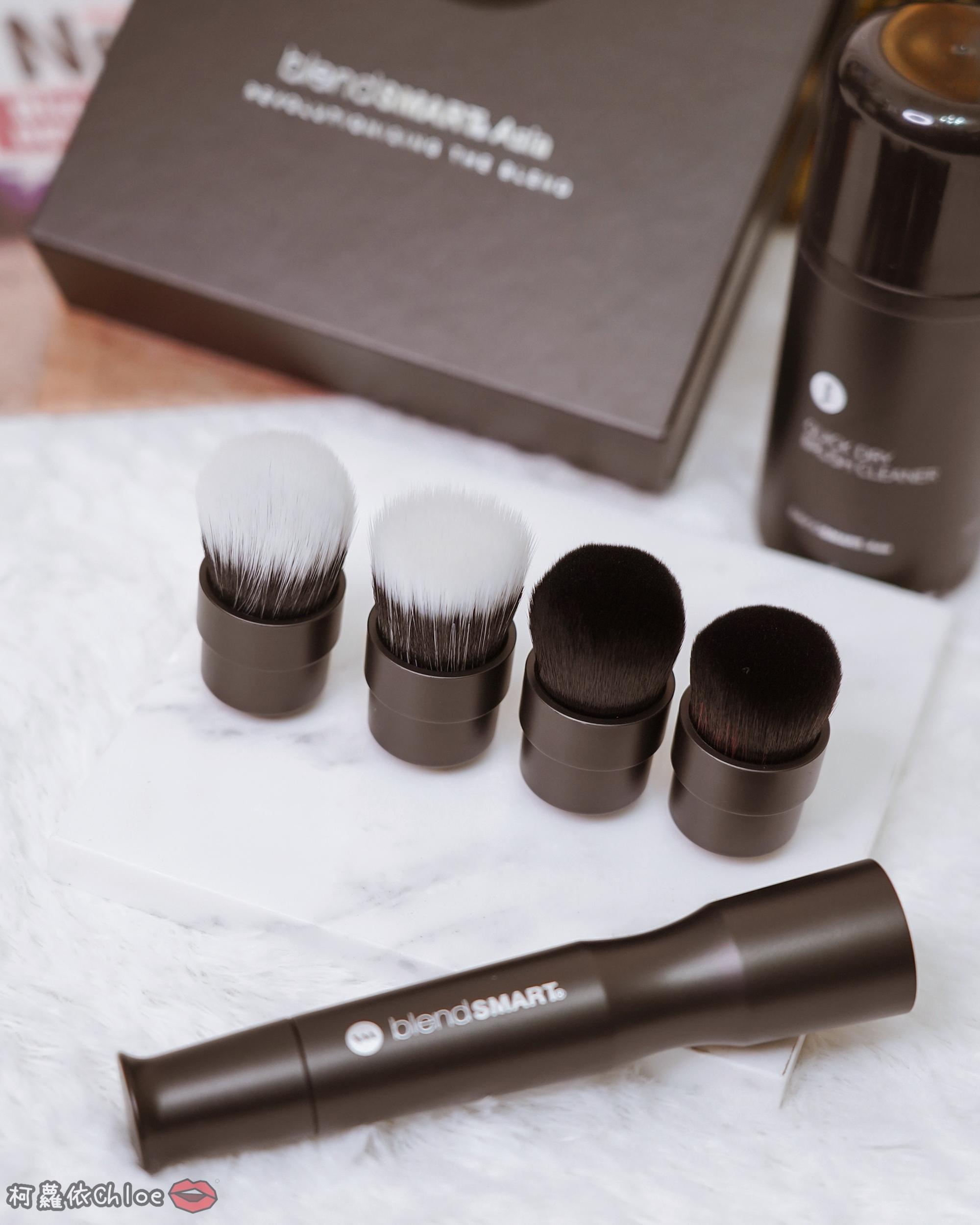 彩妝工具推薦 blendSMART電動化妝刷 達人套裝開箱 上妝輕柔更有效率7.jpg