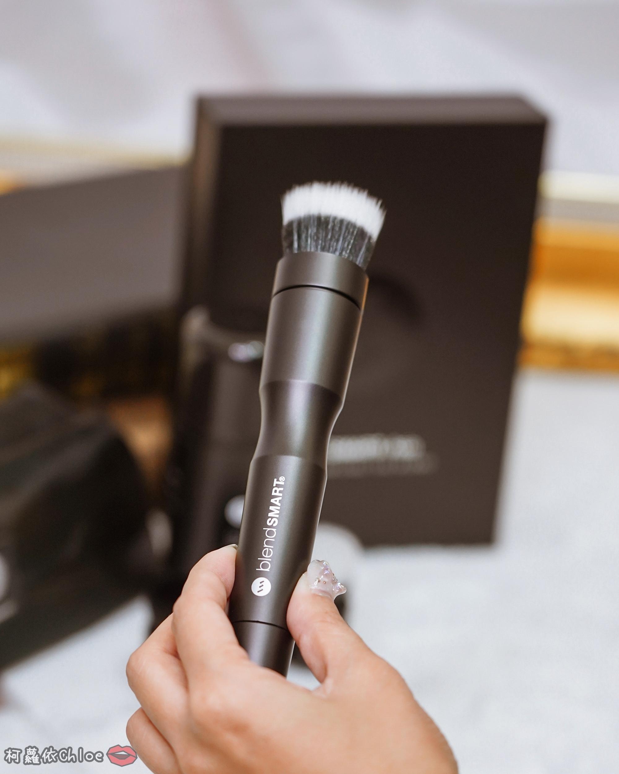 彩妝工具推薦 blendSMART電動化妝刷 達人套裝開箱 上妝輕柔更有效率11.jpg