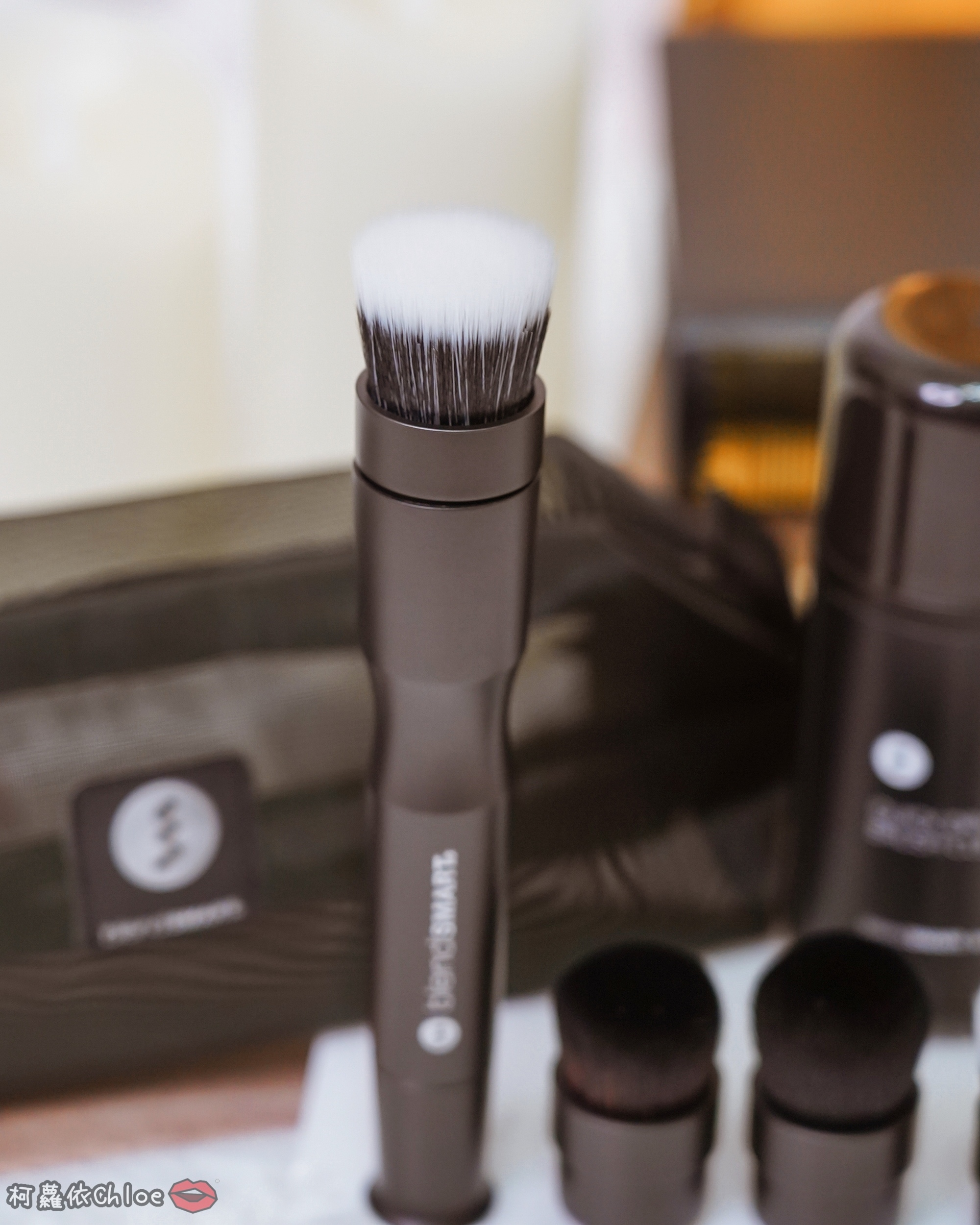 彩妝工具推薦 blendSMART電動化妝刷 達人套裝開箱 上妝輕柔更有效率13.jpg