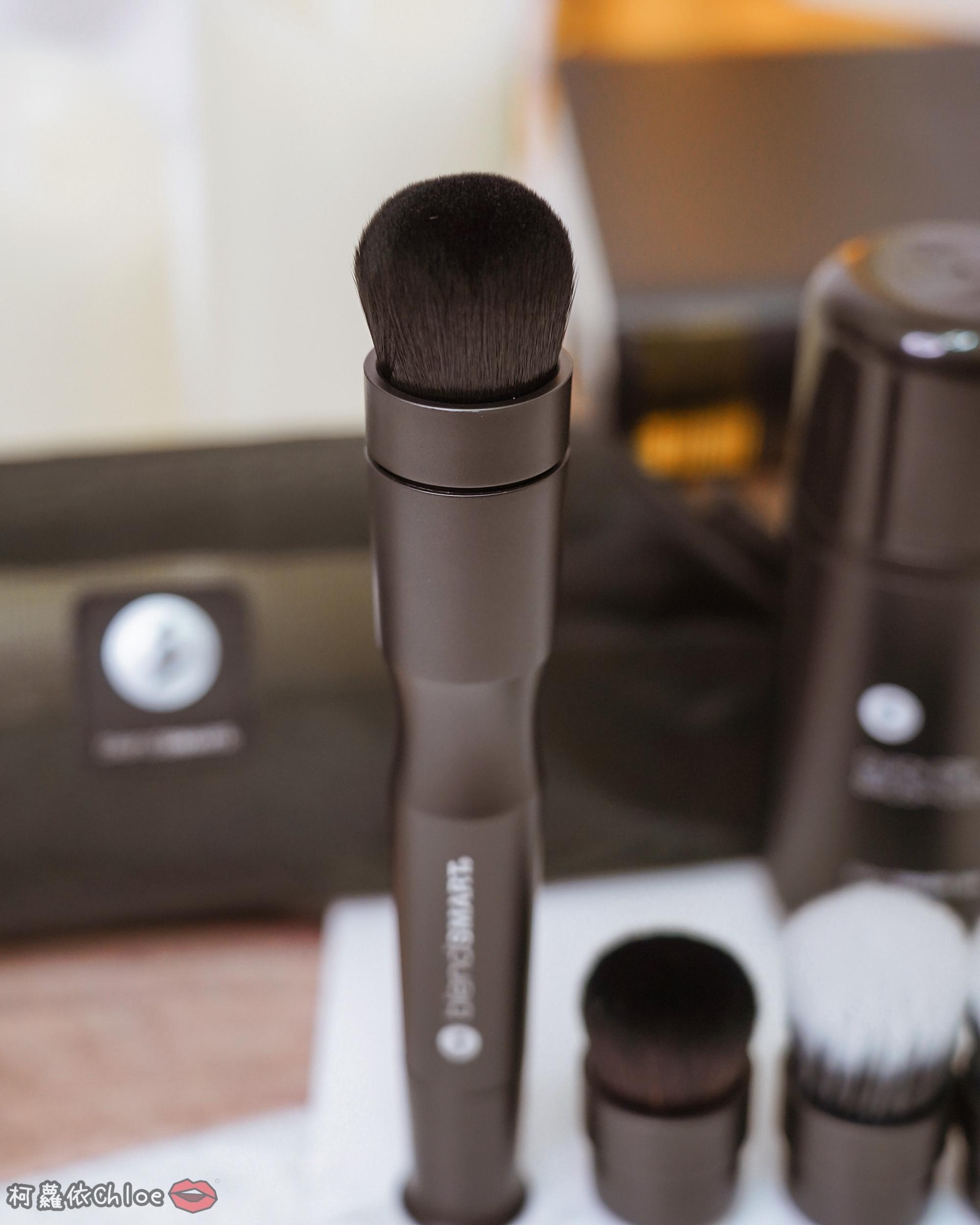 彩妝工具推薦 blendSMART電動化妝刷 達人套裝開箱 上妝輕柔更有效率36.jpg