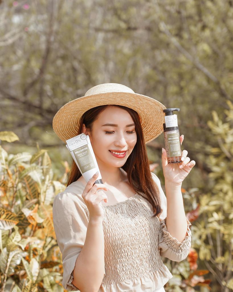 開架洗面乳推薦  日本MELLSAVON草本系列 洗面乳 洗面慕斯 屈臣氏也買得到3.JPG
